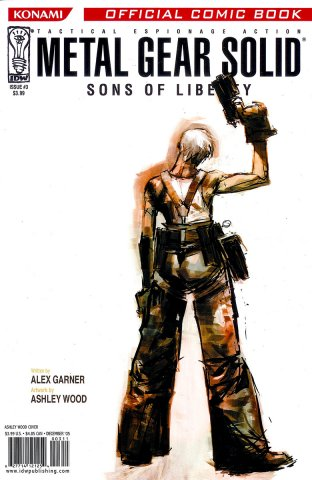 Metal Gear Solid: Sons Of Liberty Issue 03 (cover a) (December 2005)