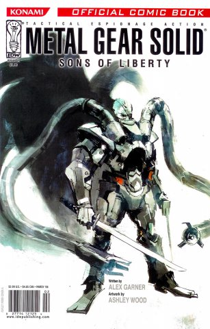 Metal Gear Solid: Sons of Liberty Issue 05 (March 2006)