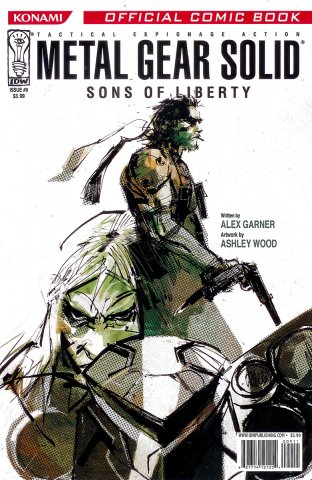 Metal Gear Solid: Sons Of Liberty Issue 09 (June 2007)