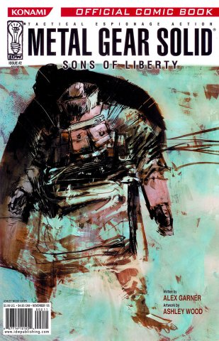 Metal Gear Solid: Sons Of Liberty Issue 02 (cover b) (November 2005)