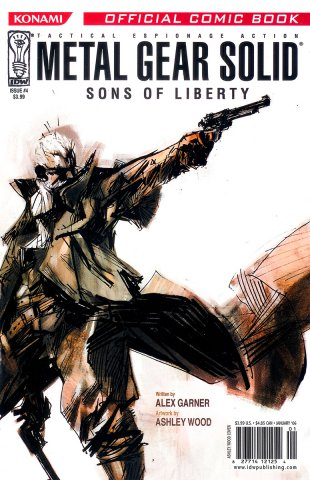Metal Gear Solid: Sons Of Liberty Issue 04 (cover b) (January 2006)