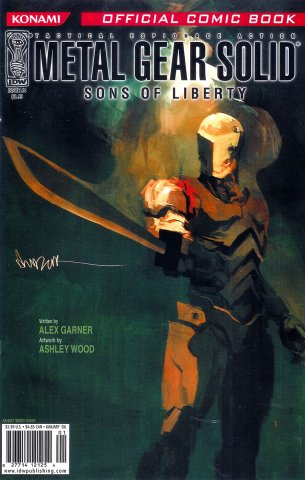 Metal Gear Solid: Sons Of Liberty Issue 04 (cover a) (January 2006)