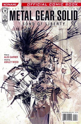 Metal Gear Solid: Sons Of Liberty Issue 11 (August 2007)
