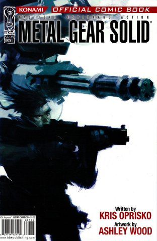 Metal Gear Solid Issue 01 (September 2004)