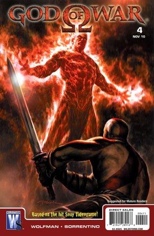 God Of War Issue 04 (November 2010)