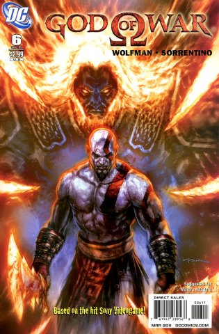 God Of War Issue 06 (March 2011)