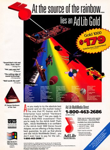 AdLib Gold 1000