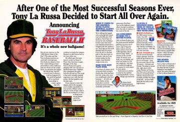 Tony LaRussa Baseball II