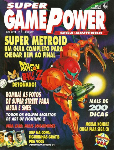 SuperGamePower Issue 003 (June 1994)