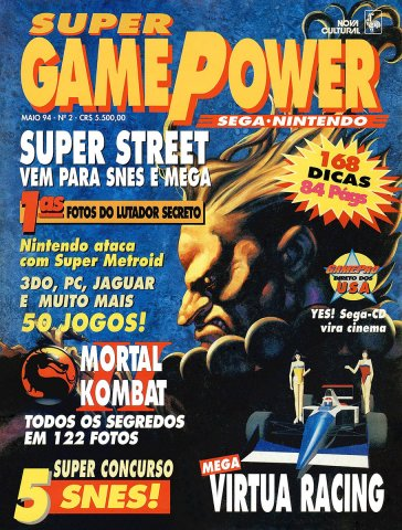 SuperGamePower Issue 002 (May 1994)