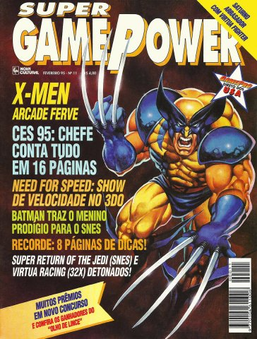 SuperGamePower Issue 011 (February 1995)