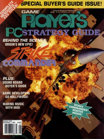 Game Player's PC Strategy Guide Vol.4 No.6 (November/December 1991)