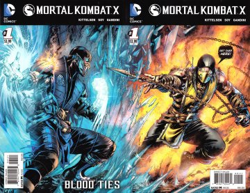 Mortal Kombat X Chapters 01-03 (cover join) (March 2015)