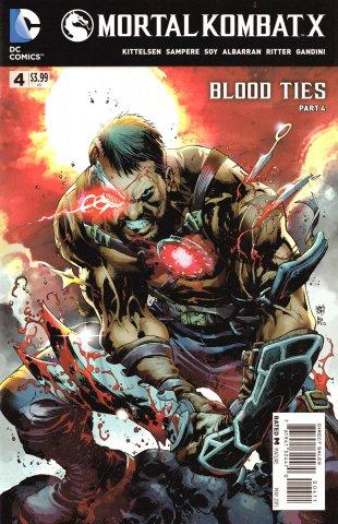 Mortal Kombat X Chapters 10-12 (May 2015)