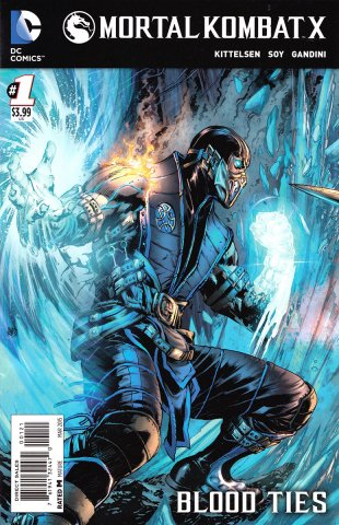 Mortal Kombat X Chapters 01-03 (cover a) (March 2015)