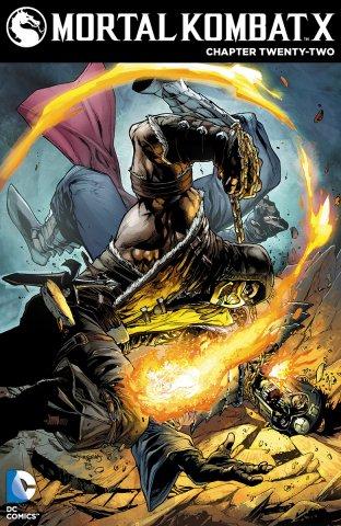 Mortal Kombat X Chapters 22-24 (2015)