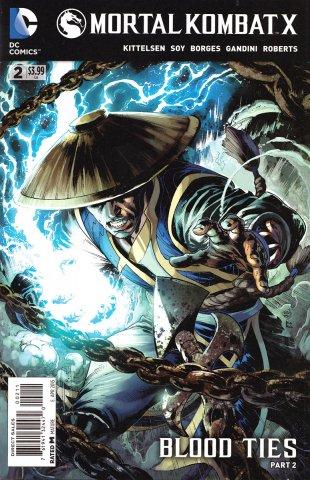 Mortal Kombat X Chapters 04-06  (April 2015)