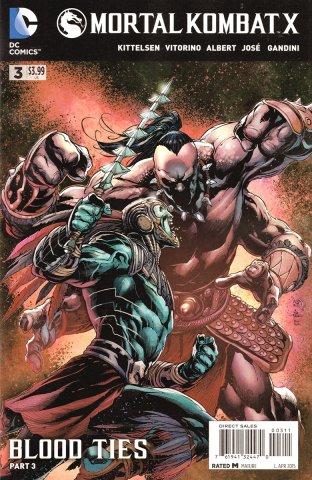 Mortal Kombat X Chapters 07-09  (April 2015)