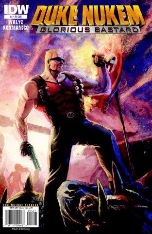 Duke Nukem: Glorious Bastard 04 (retailer incentive cover) (October 2011)