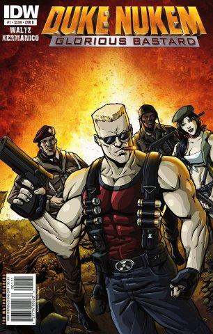 Duke Nukem: Glorious Bastard 01 (cover b) (July 2011)