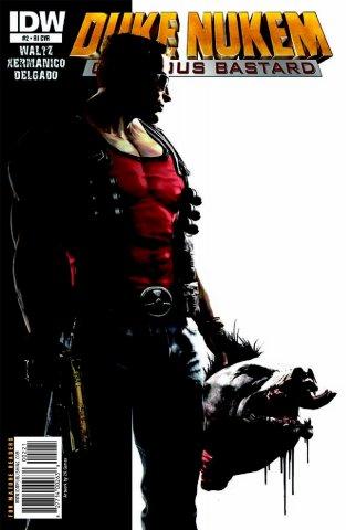 Duke Nukem: Glorious Bastard 02 (retailer incentive cover) (August 2011)