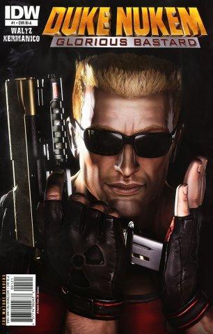 Duke Nukem: Glorious Bastard 01 (retailer incentive cover) (July 2011)