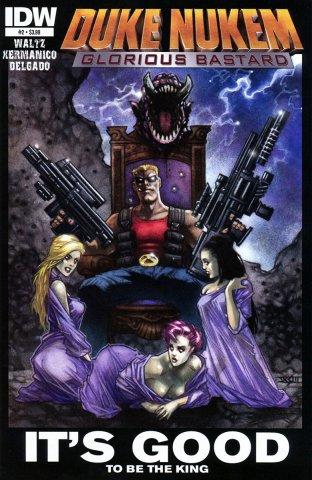 Duke Nukem: Glorious Bastard 02 (August 2011)