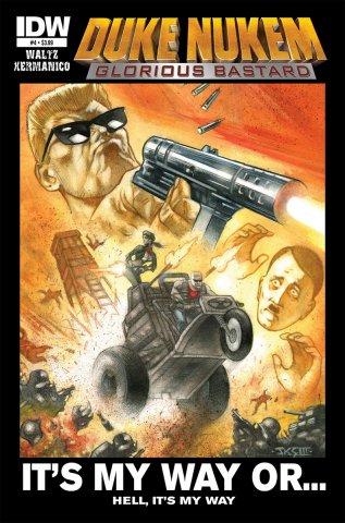 Duke Nukem: Glorious Bastard 04 (October 2011)
