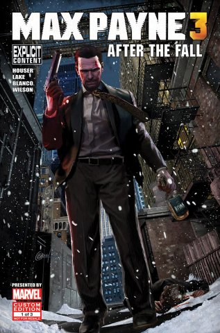 Max Payne 3 Issue 1 (May 2012)