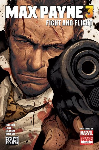 Max Payne 3 Issue 3 (July 2012)