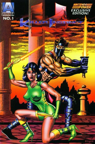 Killer Instinct (Nintendo Power) (January 1996)
