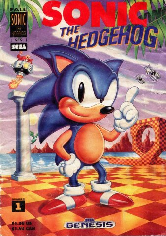 Sonic The Hedgehog promotional comic (Fall 1991)