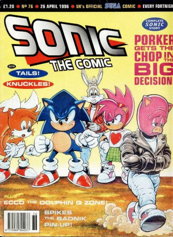 Sonic the Comic 076 (April 26, 1996)