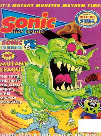 Sonic the Comic 031 (August 5, 1994)