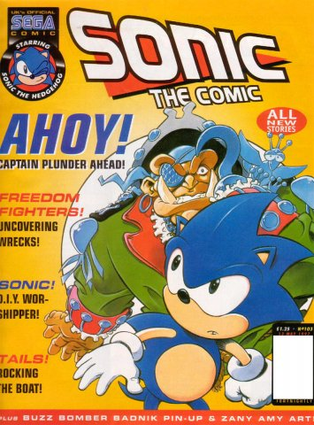 Sonic The Comic 103 (May 13, 1997)