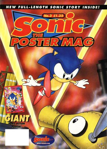 Sonic the Poster Mag 03 (March 1994)