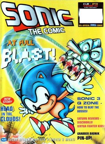 Sonic The Comic 092 (December 10, 1996)