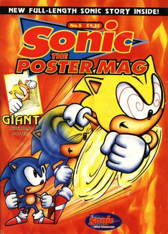 Sonic The Poster Mag 05 (June 18, 1994)
