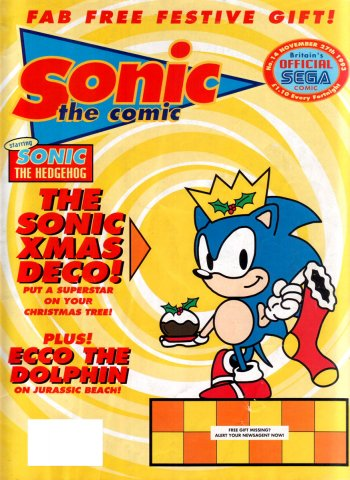 Sonic the Comic 014 (November 27, 1993)