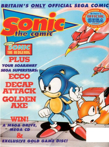 Sonic the Comic 015 (December 11, 1993)