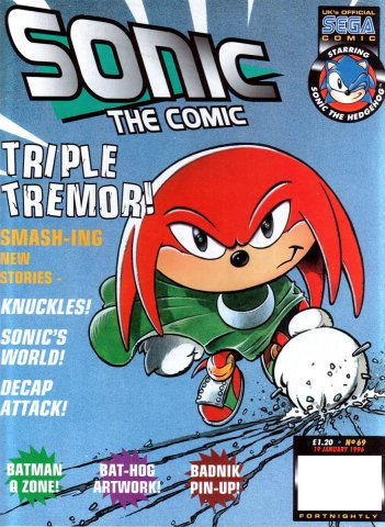 Sonic the Comic 069 (January 19, 1996)