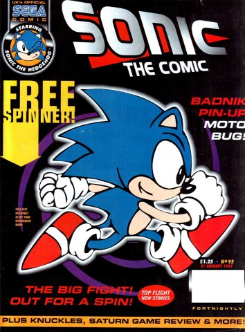 Sonic The Comic 095 (January 21, 1997)