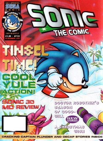 Sonic The Comic 093 (December 24, 1996)