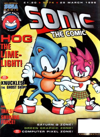 Sonic the Comic 074 (March 29, 1996)