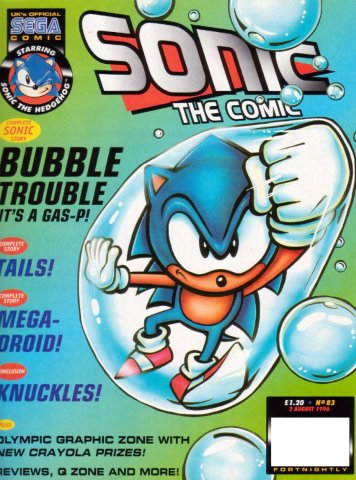 Sonic The Comic 083 (August 2, 1996)
