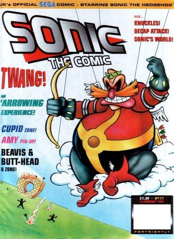 Sonic the Comic 071 (February 16, 1996)
