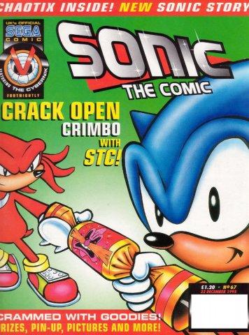 Sonic the Comic 067 (December 22, 1995)