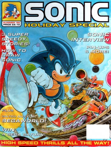 Sonic the Comic Specials