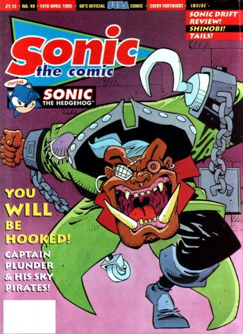 Sonic the Comic 049 (April 14, 1995)