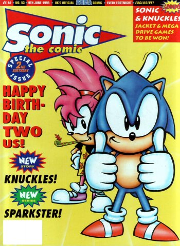 Sonic the Comic 053 (June 9, 1995)